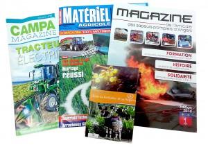 Régie publicitaire : CAMPA magazine, Magazine des sapeurs pompiers, plan de Doué-la-Fontaine